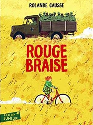 Rouge braise - Rolande Causse - Folio junior