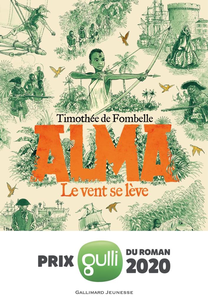 Alma : le vent se lève - Thimothée De Fombelle - 9782075139106