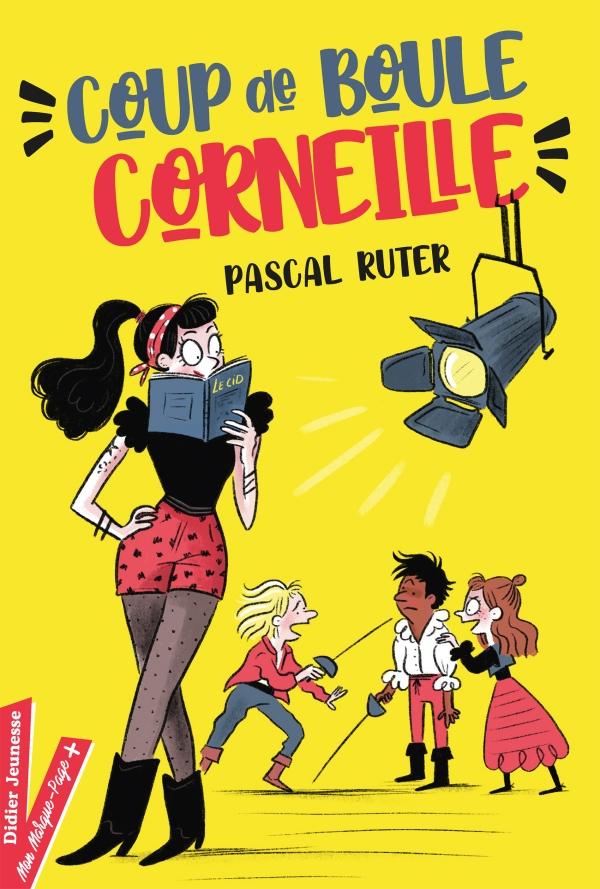 Coup de boule, Corneille - Pascal Ruter - Didier Jeunesse - 9782278100439